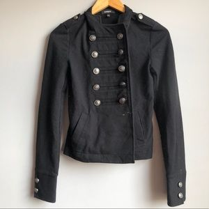 Express Double Breasted Military Jacket